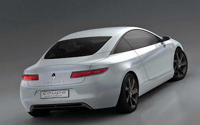 New Renault Laguna Coupe (Prototype)