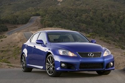 2008 New Lexus IS-F Review