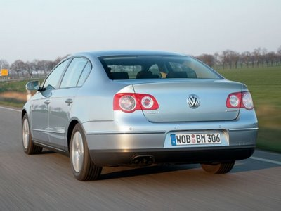 VW Passat BlueMotion and BlueMotion II