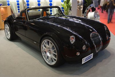 Speed prototype: Old Wiesmann GT