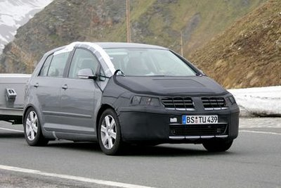 New Volkswagen Golf Plus with facelift