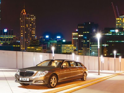 Mercedes-Benz E-klasse Luxury Limousine