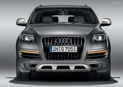 2010 AUDI Q7 with facelift