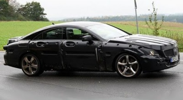 2011 Mercedes Benz CLS AMG Spied Completely