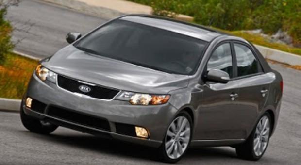 "Kia Forte Earns 2010 ""Top Safety Pick"" by IIHS"