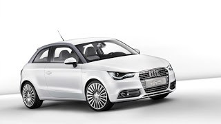 2011 Audi A1 e-tron electric car