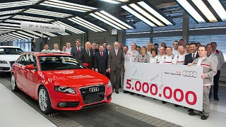 Five-million Audi A4 leaves the assembly line in Ingolstadt