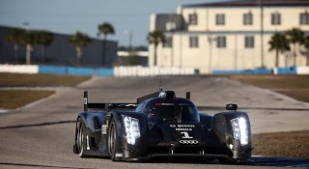 Audi R18 Evolution is under testing