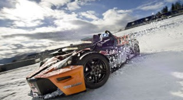 Winter Training on Austria's Red Bull Ring in Spielberg