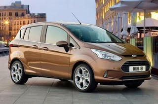 2012 Ford B-MAX Price Range and Variants