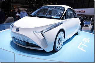 Concept Toyota FT-Bh