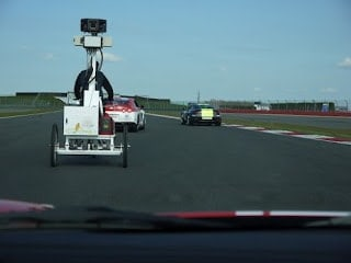 Google Street View comes to the Silverstone Grand Prix Circuit