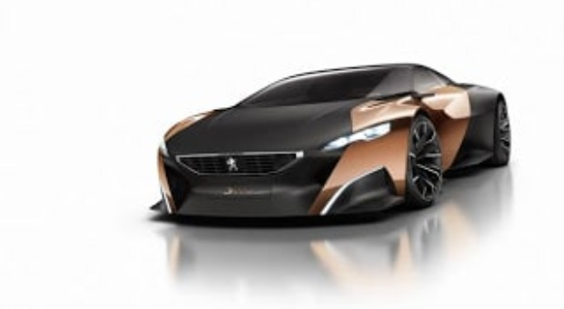 2012 Paris Motor Show – Peugeot Onyx – All-new Peugeot Onyx concept revealed as a hybrid sports-car