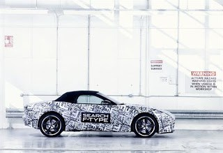 Jaguar F-Type debut on Paris Motor Show next Thursday (Thursday 27th September)