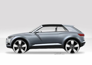 2012 Paris Motor Show – All-new Audi crosslane coupé concept car