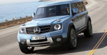 New Mercedes GLG and other 'mini SUVs'