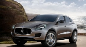 Maserati Kubang. Maserati's vision of a high performing sport luxury SUV.