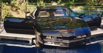 Knight Rider's KITT on the loose