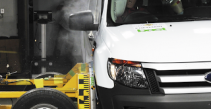 Euro NCAP testing the safety of business and family vans