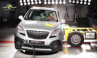 Five Euro NCAP Stars and Top Score for Opel Mokka