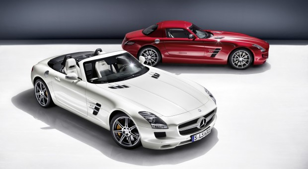 Retro Mercedes SLS AMG Roadster revealed