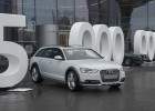 Five million Audi quattro drive systems