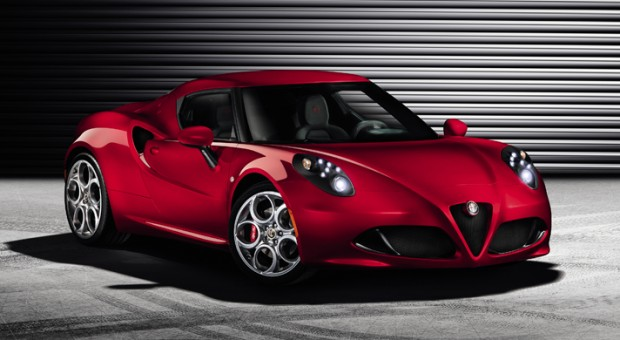 2013 All-new Alfa Romeo 4C Sport