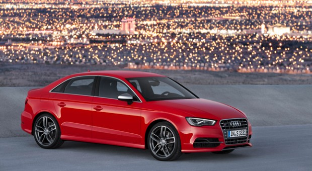 2015 New Audi A3 and S3 sedans