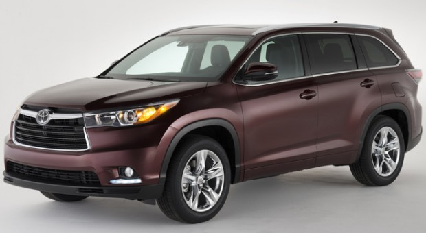 2014 Toyota Highlander World Debut