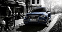 The Audi SQ5 with James Beim …