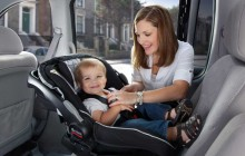 Infant car seat correct position !