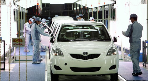 Toyota Motor Car Reports Sales Results March 2013