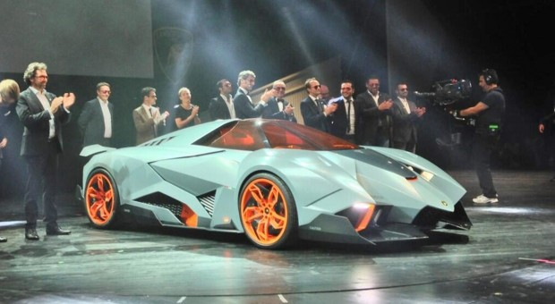 Lamborghini Egoista revealed