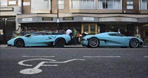 Some super cars filmed in London ;-)