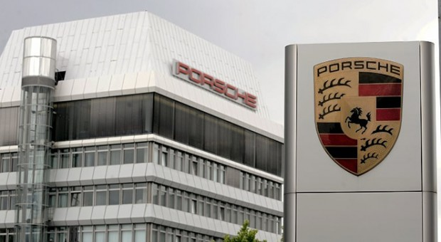 Porsche achieved growth in April in every region