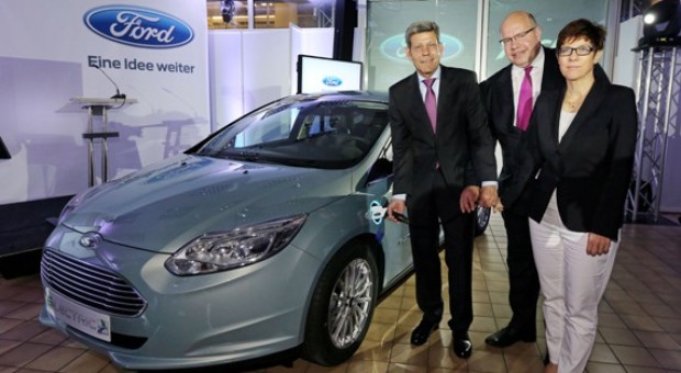 Ford Focus Electric Production Begins in Europe