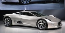 The Jaguar C-X75 Prototype