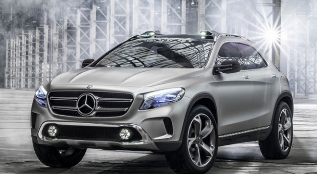 Compact SUV from Mercedes-Benz revealed