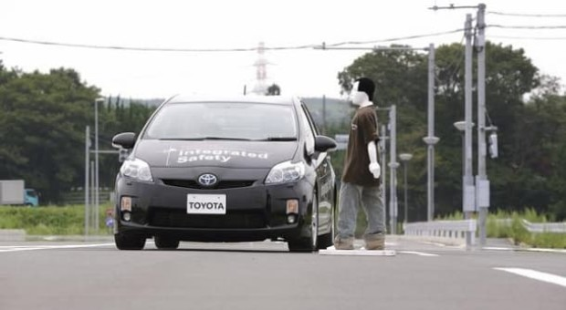 Toyota Develops A New Pedestrian Safety Car Technology