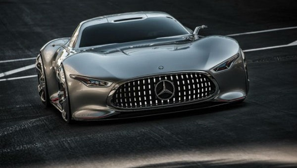 Latest Mercedes-Benz GT Concept! Just fabulous @LA Auto Show!