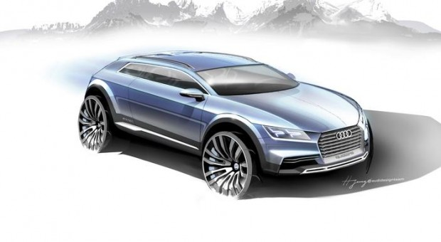 The new Audi show car – a compact sports car is making its debut in January 2014 at the North American International Auto Show (NAIAS)