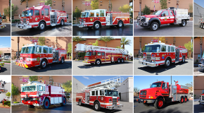 The Different Types of Vehicles Used by Firefighters
