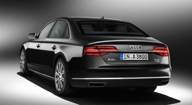 The new Audi A8 L Security
