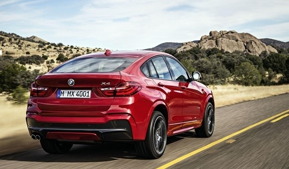 The all-new BMW X4 M40i