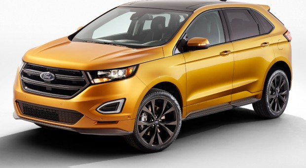 All-New 2015 Ford Edge EcoBoost