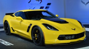 The Corvette Z06 accelerates from a rest to 60 mph in only 2.95 seconds when equipped with the all-new, eight-speed paddle-shift automatic transmission