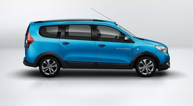 Dacia Lodgy Stepway, Dokker Stepway and Duster Air at 2014 French Motor Show