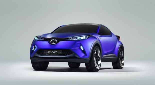 New TOYOTA C-HR Concept – Toyota's vision of for C-segment Crossover