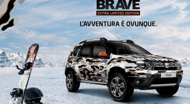 Dacia Duster Brave a new limited edition for Italy