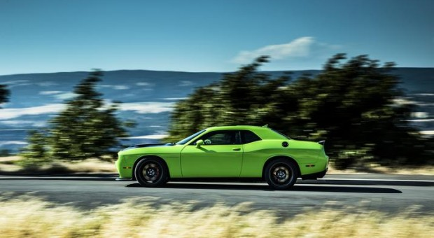 707-Horsepower Dodge Challenger SRT Hellcat is most powerful muscle car ever